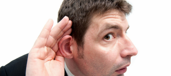 Can you shout a bit louder God? – I can't hear you!