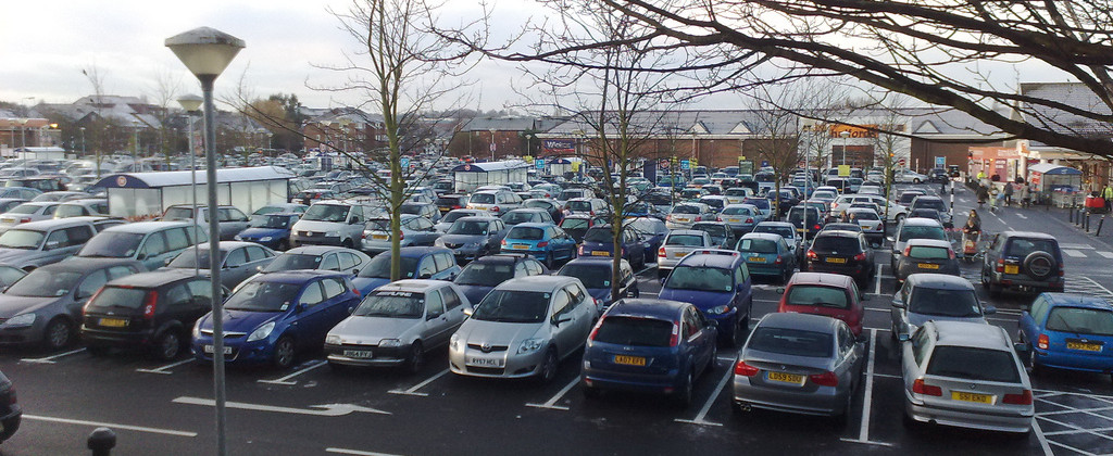 Should I pray for parking spaces?